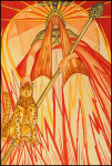 Thoth Tarot Queen of Wands