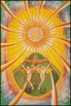 Thoth Tarot Trumps XIX The Sun