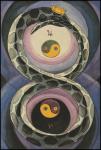 Thoth Tarot 2 of Disks (Change)